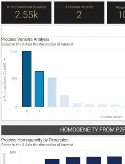 MEHRWERK ProcessMining (MPM) Process Variants
